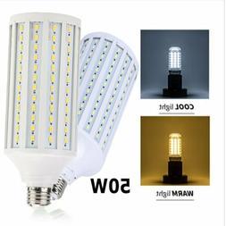 300W Equivalent LED Bulb 168 Chip Corn LED Warm Light E26 50