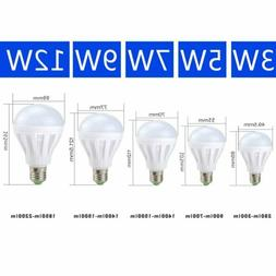 10 Pack  3W 5W 7W 12W LED Bulbs 6500K Daylight White Bulb E2