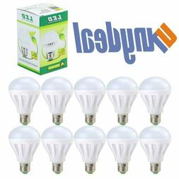 20 Pack LED Light Bulbs 75 Watt Equivalent E26 1000Lm 7W Day