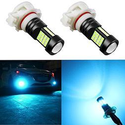 Alla Lighting 2000 Lumens 5202 5201 PS19W 12085 LED Bulb Hig