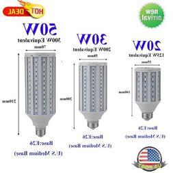 20W 30W 50W E26 110V 5730SMD LED Corn Light Bulb Lamp Cool D