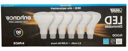 24 pack x FEIT Electric LED BR30 Bulbs 5000K Daylight Dimmab
