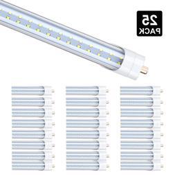 25 Pack 65W LED Tube Light 8FT FA8 T8 8 Foot LED Shop Light