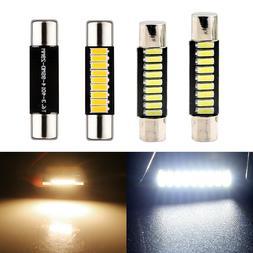 29mm 31mm T6 6641 6614F LED Bulb for Car Sun Visor Vanity Mi