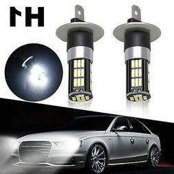 2PCS CREE H1 LED Headlight Conversion 100W 14000LM Low Beam