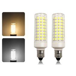 2pcs e11 led light bulb 9w 110v