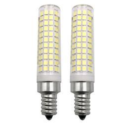 2pcs E12 Standard Base LED bulb 10W 136 Led Ceiling Fan Ligh