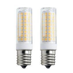 2pcs E17 C9 LED Lights Bulb 102-2835 Ceramics Light 7W 110V