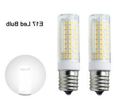 2pcs E17 Intermediate Base LED bulb 102-2835 Ceramics Light