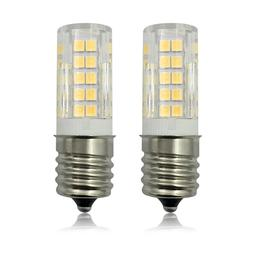 2pcs E17 Intermediate Base LED Light bulb 64-2835SMD Ceramic
