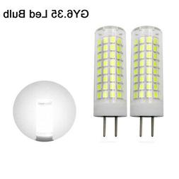 2pcs GY6.35 Led Bulb 9W 102-2835 SMD Lamp 110V 120V Ceramics