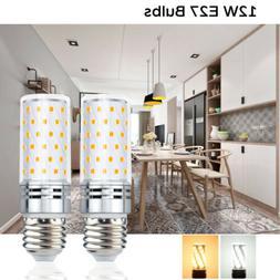 2X 8W LED Corn Light E26 Medium Screw Base LED Tubular Corn