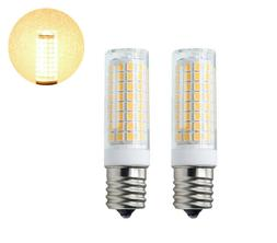 2x E17 C9 LED bulb Warm White 102Led Ceramics Light 7W 110V