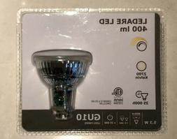 2x IKEA LEDARE LED Bulb GU10 400 Lumen Warm Dimmable, WarmGl