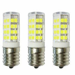 3-Bulbs E17 LED Bulb for Microwave Oven, Freezer, Under-Micr