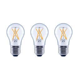 3 EcoSmart A15 Vintage Filament Dimmable Glass LED Light Bul