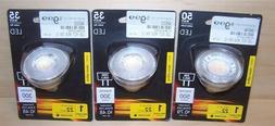 3 FEIT Electric Enhance MR16 GU5.3 LED Bulb Bright White 35