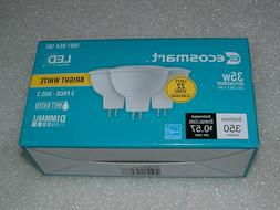 3 Pack LED 35W = 5W Bright White 35 W Equivalent MR16 3000K