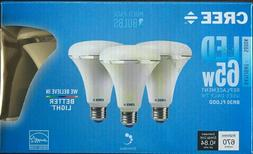 3 pc  7w Cree 65W Equivalent Daylight 5000K BR30 Dimmable LE