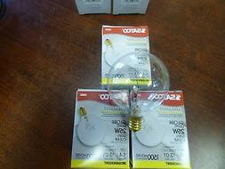 3 THREE SATCO 25 watt Light Bulbs Fits Full Size Scentsy War