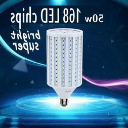 300 Watt Equivalent LED Bulb 168-Chip Corn Light E26 5000lm