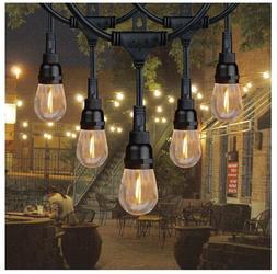 36' LED Hanging String Lights 18 Bulb Indoor Outdoor Honeywe