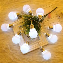 3M LED String Light Bulb 20 Bead Wedding Fairy Lamp Party Ho