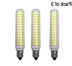 3pcs E11 LED bulb 134Led Ceramics Ceiling Fan Light Warm Whi