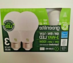 LED Bulb 3 Way 40/60/100W - Replacement 4W/8W/14W LED -  BR