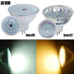 4/10Pack MR16 3W 5W LED Light Bulbs Globe Spotlight SMD Cool