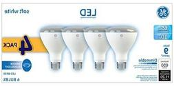 4 Bulbs GE Dimmable LED Indoor Flood 650 Lumens Replacement