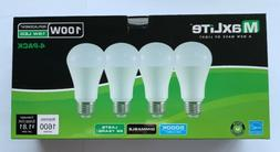 4 dimmable led daylight light bulb 15