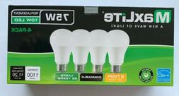 4 Maxlite Dimmable LED Soft White Light Bulb 15-Watt 100 W r