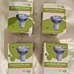 4 NEW Lighting Ever 5W MR16 GU10 LED Bulb 50W Halogen Bulb W