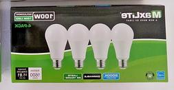 8 Pack 15W Greenlite LED 100 Watt Equivalent A Type Light Bulbs 5000K Dimmable