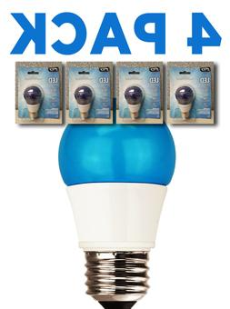 4 PACK TCP 5W  LED Blue Light Bulb Non-Dimmable RLA155BL CRL