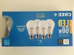 Cree A19 LED 815 Lumens 60W Replacement Soft White 2700K Li
