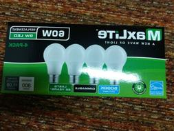 4 pack daylight 9w led light bulbs