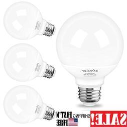 4 Pack G25 Globe LED Bulbs, Light Bulb 60 Watt Equivalent Ba