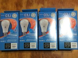 4 pack GE LED 40 Watt Light Bulbs A19 Dimmable daylight 5000