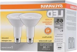 4 pack Sylvania LED Flood Light Bulbs White 65W 800 Lumens I