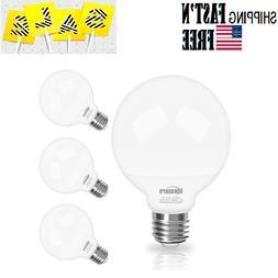 4 pack Vanity Light Bulb 5000K Daylight,G25 LED Globe Light