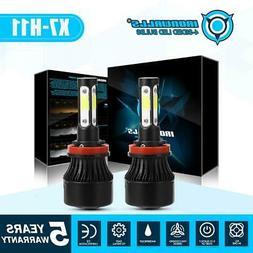 4 Sides H11 H8 H9 CREE LED Headlight Kits 1900W 285000LM Bul