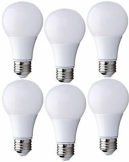 Bioluz LED 40 Watt LED Light Bulbs, 40W A19 Bulb Uses only 6