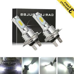 CREE 400W 40000LM H7 LED Headlight Kit Bulbs High-Low Beam B