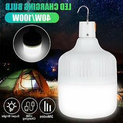 40W/100W USB LED Light Bulb Portable Night Emergency for Hou