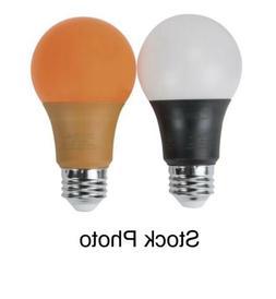 Zilotek® 40W Equivalent A19 Orange and Black LED Light Bulb