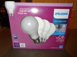 Philips 40W Equivalent Daylight A19 Medium Dimmable LED Ligh