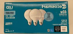 EcoSmart 40W Equivalent Daylight G25 Dimmable Frosted LED Li