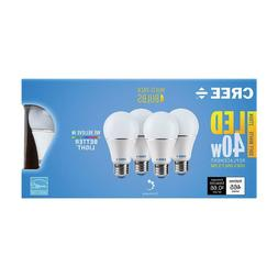 CREE 40W Equivalent Soft White  A19 Dimmable LED Light Bulb